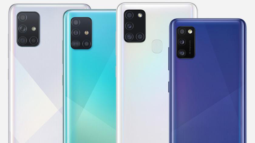 Samsung Galaxy A serie vergelijken