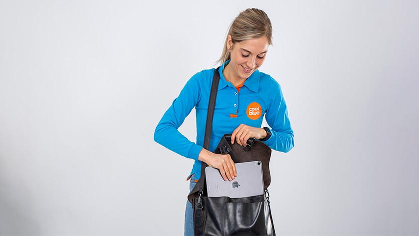 iPad Pro in bag