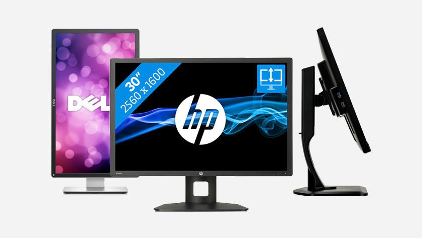 Verstelbare monitor kiezen