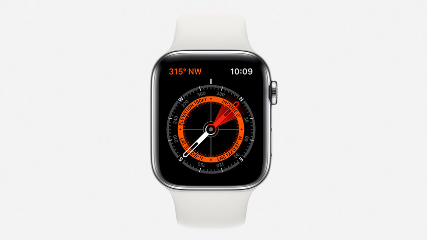 Apple Watch Series 5 kompas