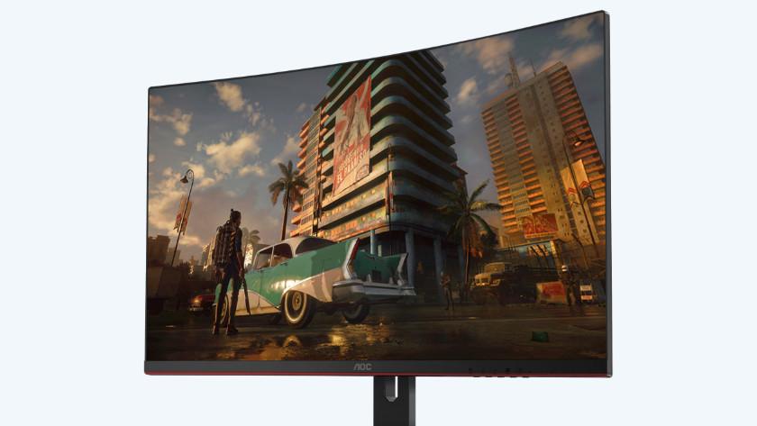 QHD resolutie van de 32 inch AOC gaming monitor