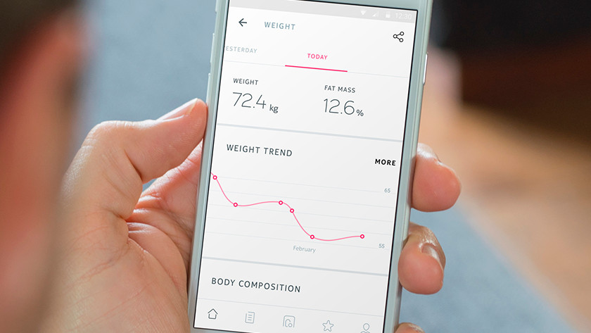 Step-by-step guide Withings scale