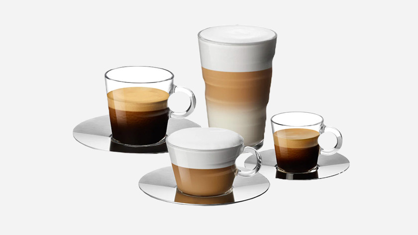 Nespresso coffee choices