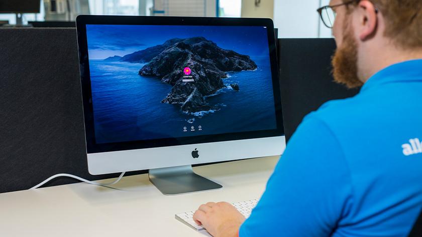 Apple iMac opstarten