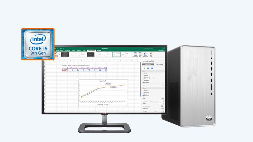HP Pavilion TP01 met Excel