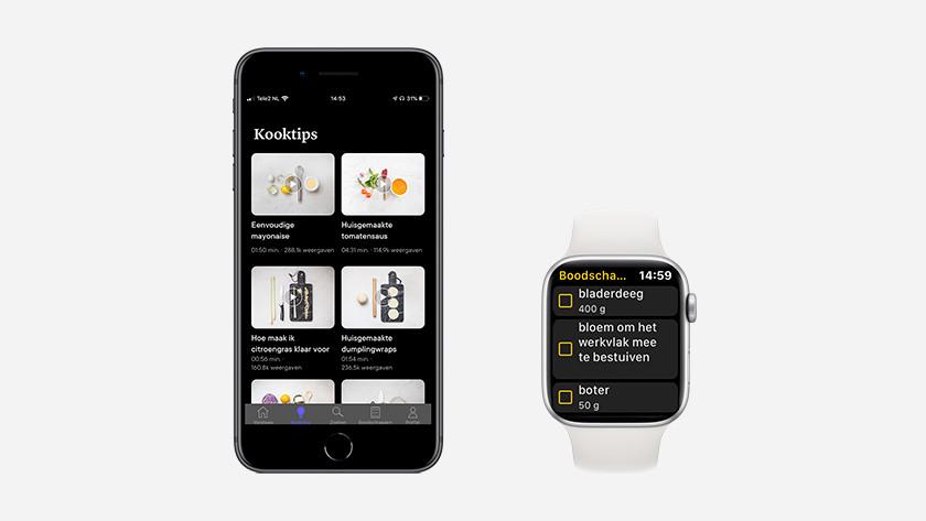 iOS app Kitchen Stories iPhone Apple Watch