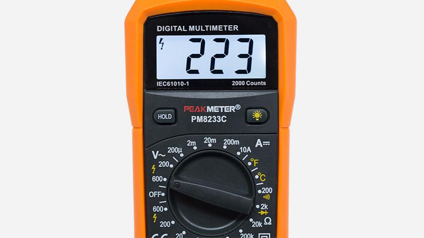 CATIII multimeter
