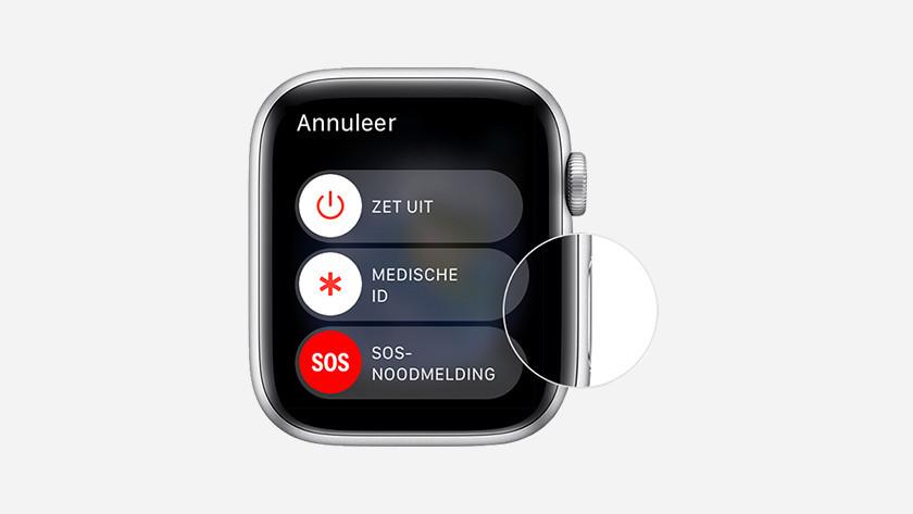 Apple Watch herstarten