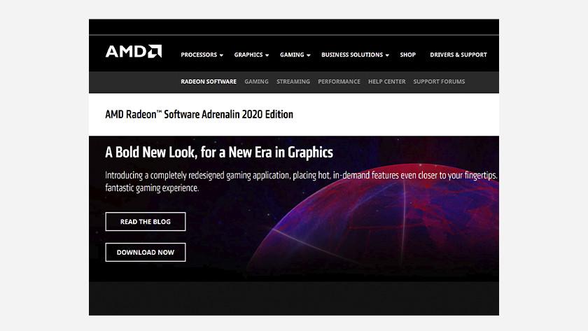 AMD driver update