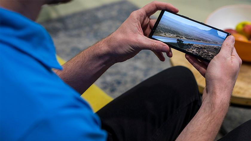 Sony Xperia 5 randloos