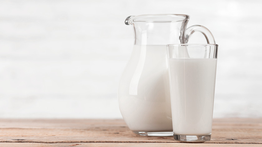 Milk for cappuccino