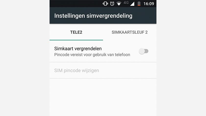 unlocking the SIM card