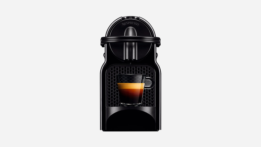 Try Nespresso machines in the store