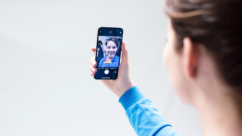 iPhoneX gezichtsherkenning
