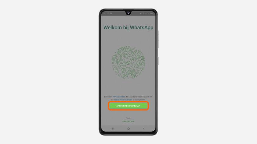 back up whatsapp telefoon