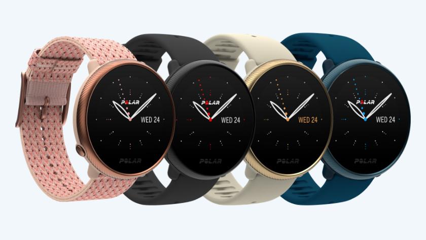 4 kleuren Polar Ignite smartwatches