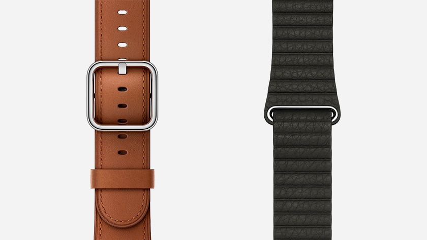 Apple Watch lederen bandjes