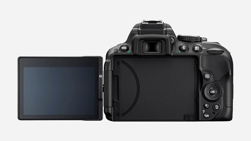 Camera's met kantelbaar scherm