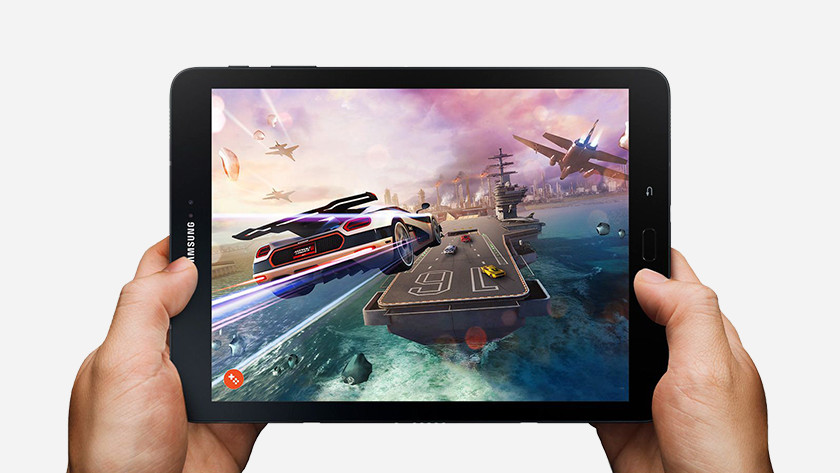 gaming on the Samsung Galaxy Tab S3