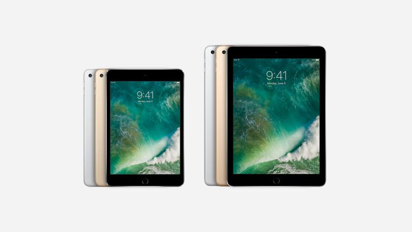 iPad Mini 4 comparison iPad 2017