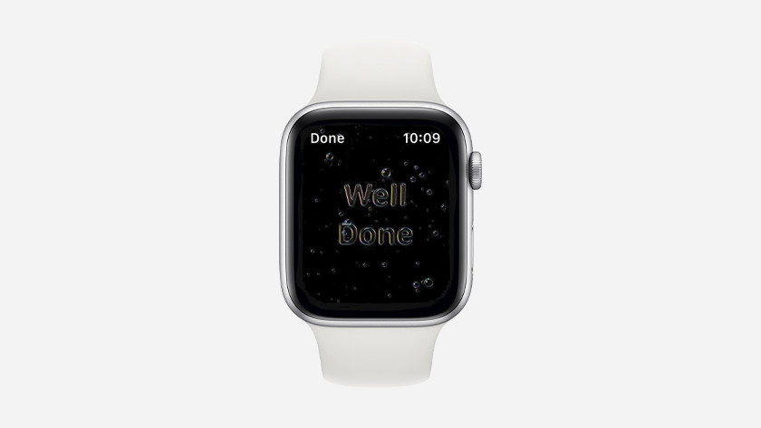 Apple watchOS 7 handwas detectie