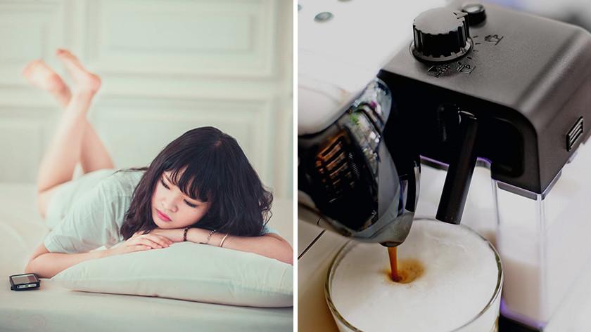 Slimme koffiemachine