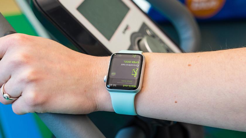 Apple Watch Siliconen Sport Loop horlogeband