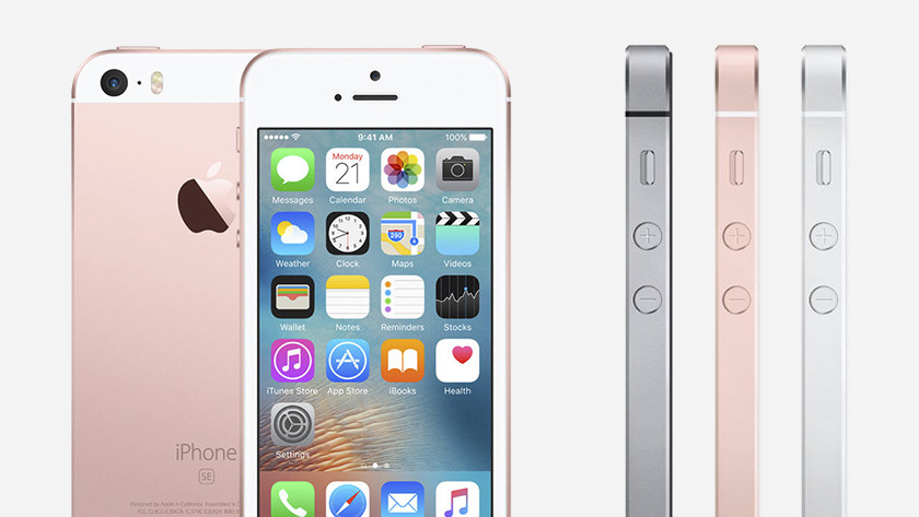 Apple iPhone SE (2016) ontwerp
