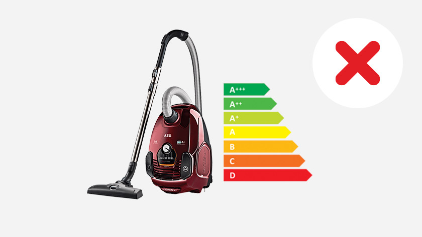 Abolish energy label for vacuum cleaners