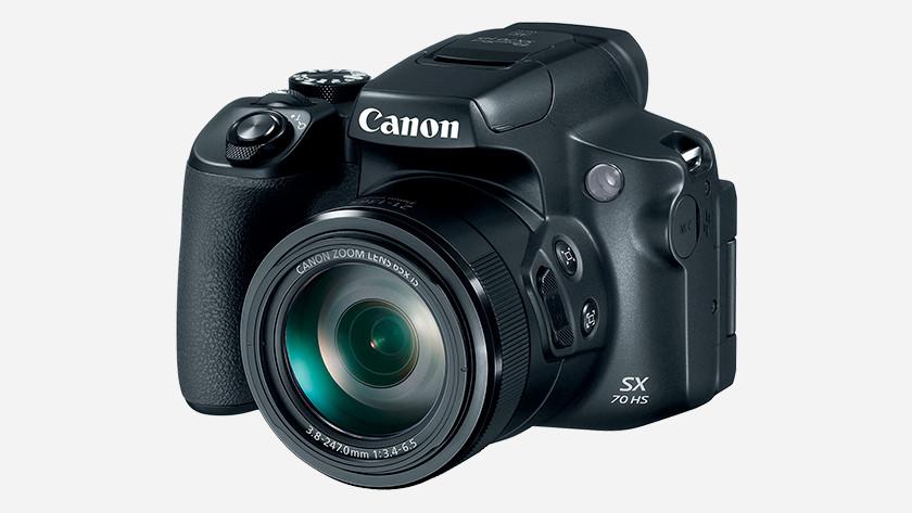 Optische zoom Canon PowerShot SX70 HS