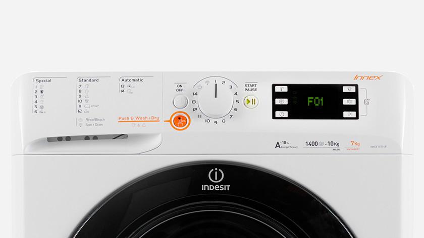 Indesit wasmachine foutcode