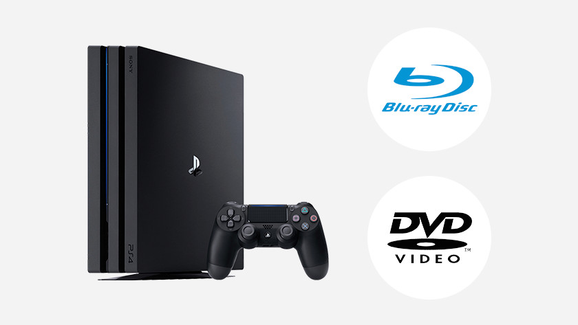 Playing Blu-ray and DVD on your PS4