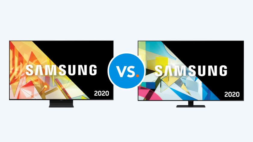 Samsung televisies vergelijken