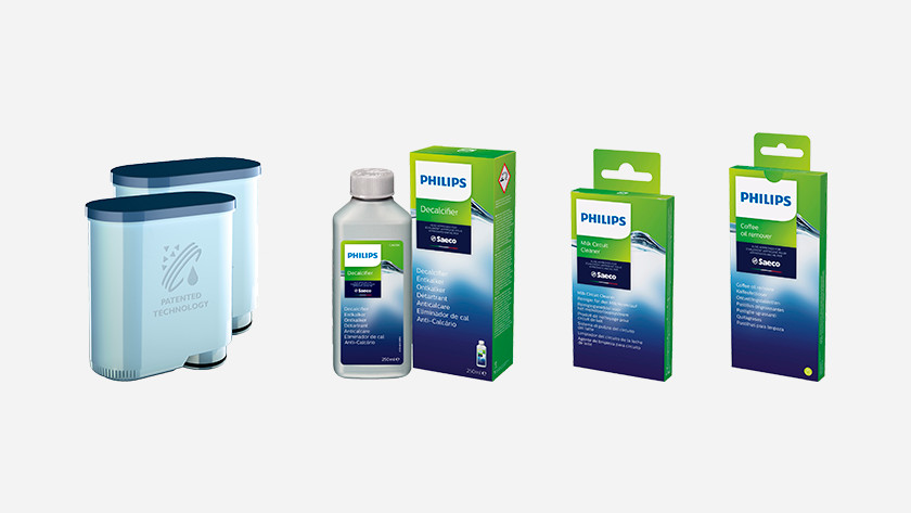 Gebruik onderhoudsmiddelen van Philips