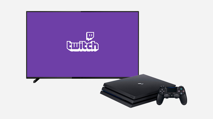 Twitch op je PS4