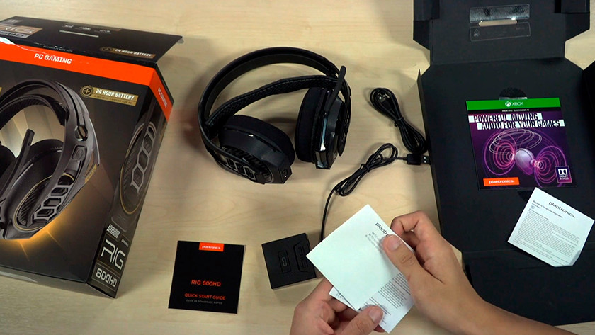 All the necessities for a Dolby Atmos headset from the box