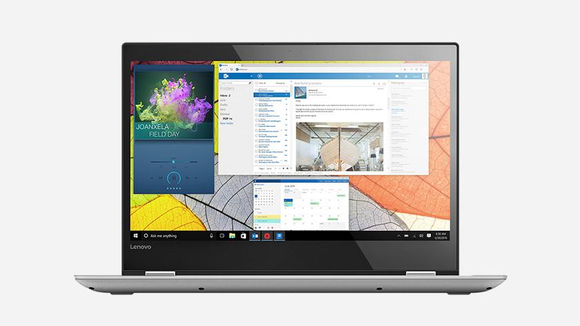 Een Windows 10 laptop.