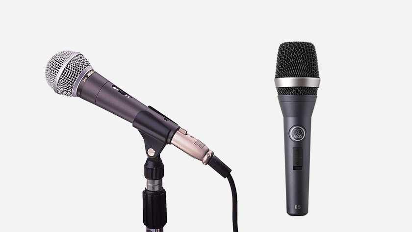 Microphone for speech and singing