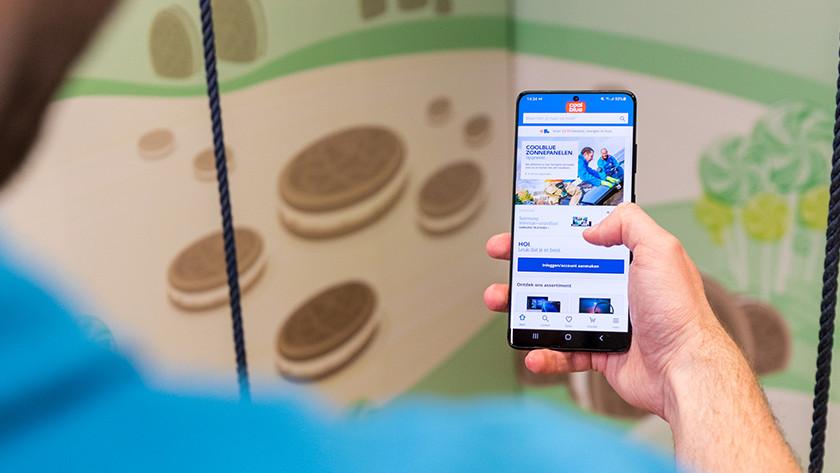 Samsung S21 Ultra review scherm