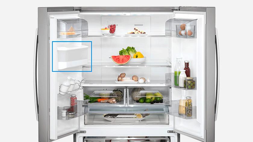 Wtertoevoer Amerikaanse koelkast
