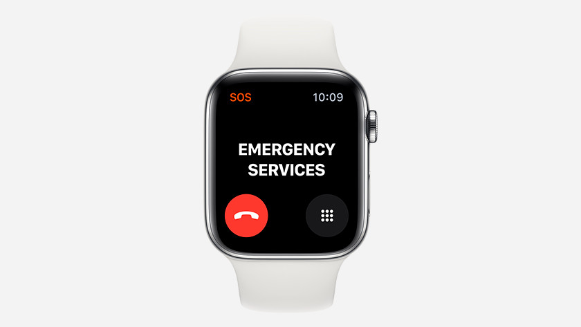 Emergency Services Apple Watch Series 5
