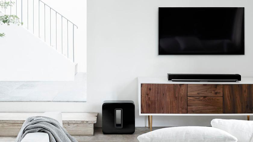 Verbeter het geluid van je tv