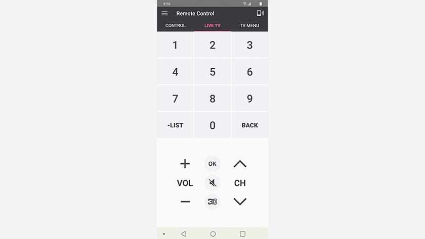 LG TV Plus app