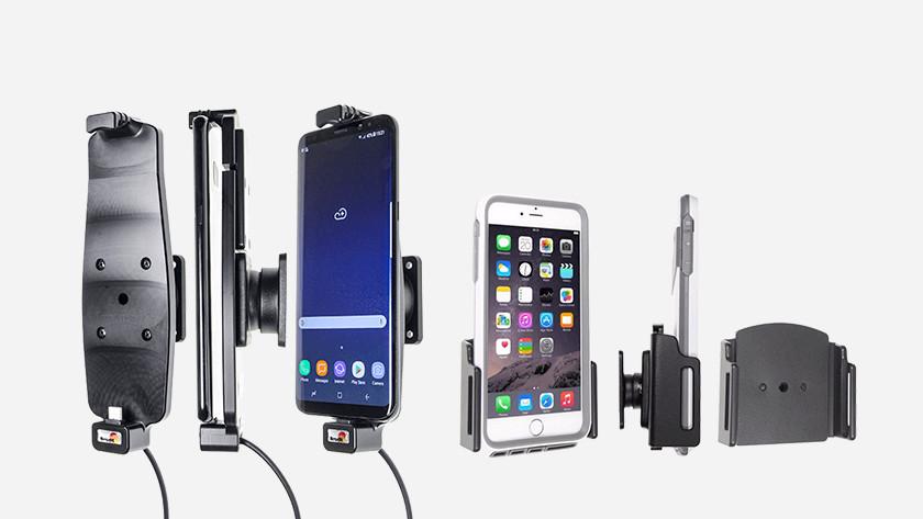 Various Brodit phone mounts