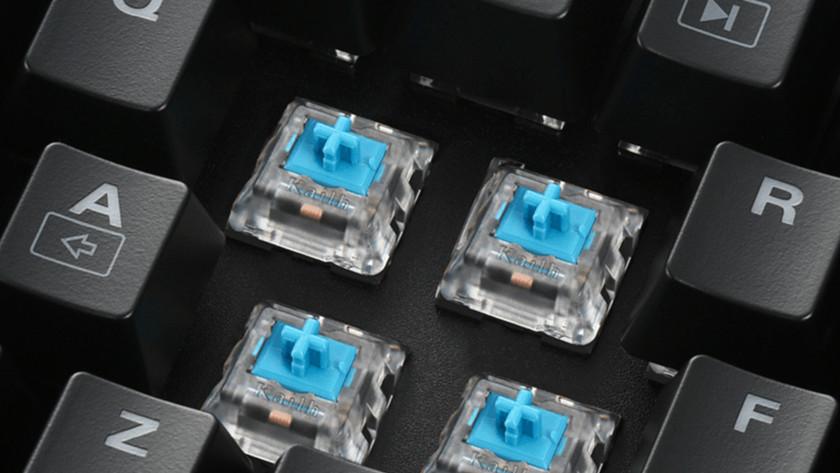 Toetsen switches mechanisch optisch actuatiepunt snelheid snel druk gevoelig