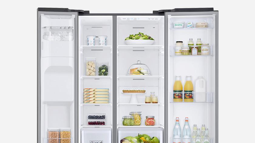 Open Amerikaanse koelkast