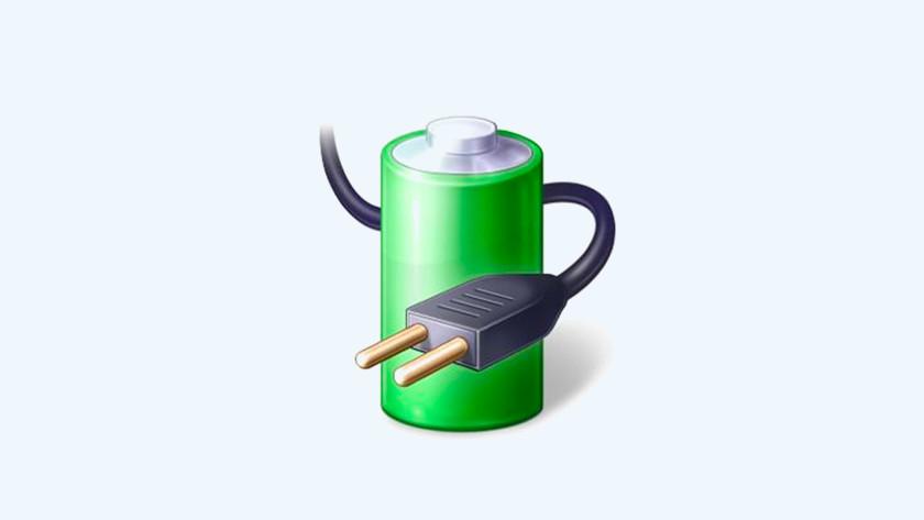 Energiebeheer icoon Windows 10.