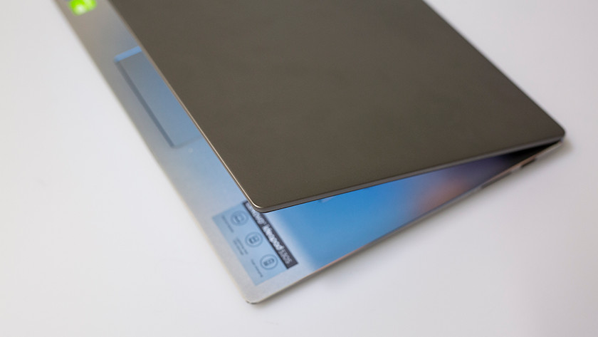 Photo of Lenovo IdeaPad top of the cover