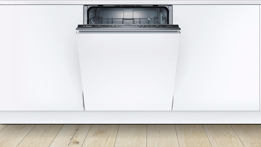 dishwasher with baseboard
