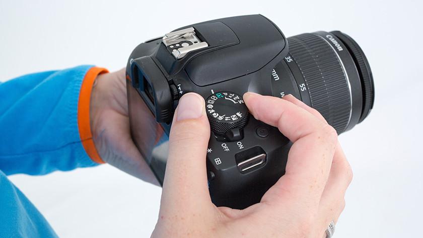 Canon 1300D guide mode